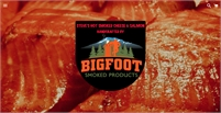 Bigfoot Smoked Products, Steves Hot Smoked Cheese & Salmon