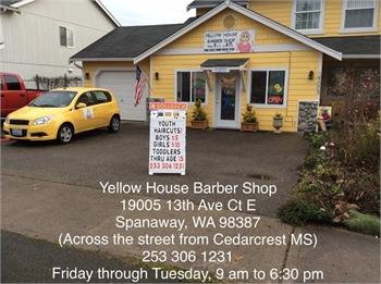 Yellow House Barber Shop