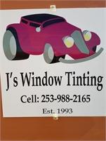 J's Window Tinting Cedric Jones