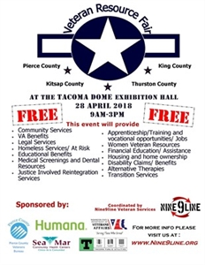 The 6th Annual Veterans Resource Fair