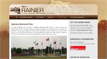 Vets Park in Rainier, WA