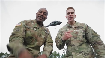 Army Recruiter's New Video